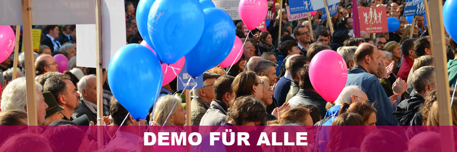 5350 Teilnehmer auf der Demo für Alle